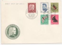 1953  FDC Non Adressé - Briefe U. Dokumente