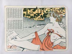 Calendrier La Dépêche - 1900 - Calendars