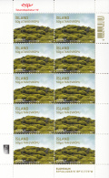 Iceland 2015 MNH Minisheet Of 10 Eldhraun Tourism - Géographie
