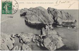 Cette - Curieux Rochers Des Environs De La Corniche - Sete (Cette)