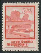 Taiwan Republic Of China 1972 Mi 926 ** Microwave Systems + Electronic Sorting Machine / Radarsystem, Briefsortieranlage - 1945-... Republiek China