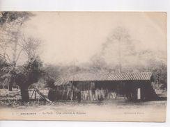 Cpa.33.Arcachon.La Forêt.Une Cabanne De Résinier. - Arcachon