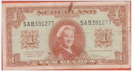 PAYS BAS - 1 Gulden Du 18 Mei 1945  - Pick 70 VF - Pays-Bas