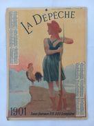 Calendrier La Dépêche - 1901 - Calendriers