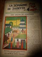 1948 LSDS (La Semaine De Suzette): Leçon De Politesse ; Dame TARTINE Marie Sa Fille ; Drôles D'oiseaux ; Etc - La Semaine De Suzette