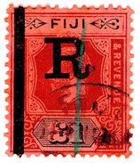 (I.B) Fiji Revenue : Stamp Duty £1 - Fiji (...-1970)