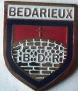 ECUSSON METAL BEDARIEUX  (34) - Escudos En Tela