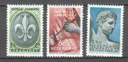 Netherlands 1937 NVPH 293-295 MH (2) - Period 1891-1948 (Wilhelmina)