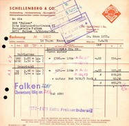 A8581 - Glauchau - Schellenberg & Co Holzhandlung - Rechnung 1971 Nach Limbach Oberfrohna - Deutschland