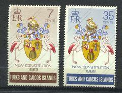 Turks & Caïcos, Yvert 241&242, Scott 200&201, SG 316&317, MNH - Turks- En Caicoseilanden