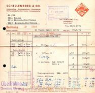 A8457 - Glauchau - Schellenberg & Co Holzhandlung - Rechnung 1971 Nach Limbach Oberfrohna - Deutschland