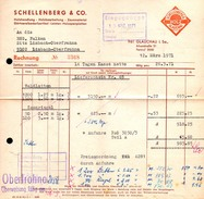 A8457 - Glauchau - Schellenberg & Co Holzhandlung - Rechnung 1971 Nach Limbach Oberfrohna - Germany