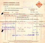 A8504 - Glauchau - Schellenberg & Co Holzhandlung - Rechnung 1971 Nach Limbach Oberfrohna - Deutschland