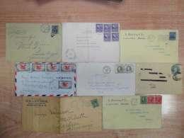 Lot USA Briefe Um 1900 - Etats-Unis