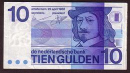 PAYS BAS - 10 Gulden Du 25 April 1968 - Pick 91 - XF - 10 Florín Holandés (gulden)