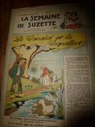 1948 LSDS (La Semaine De Suzette): LE CANARD ET LE COQUELICOT ; Etc - La Semaine De Suzette