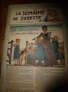 1948 LSDS (La Semaine De Suzette): LA SECONDE CENDRILLON ; Etc - La Semaine De Suzette