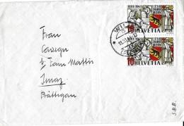4 - 21 - Enveloppe Envoyée De Wil 1941 - Lettres & Documents