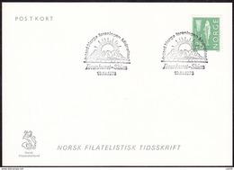 """NORWAY - Skien 19.10.1973 «North. Norway Assoc. """"Midnight Sun"""" At The Ibsen-house» (Henrik Ibsen=Nobel Prize Laureate) - Writers"""