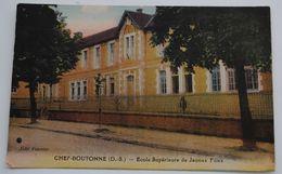 CHEF BOUTONNE ECOLE SUPERIEURE DE JEUNES FILLES - Chef Boutonne