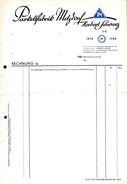 A8590 - Metzdorf - Parkettfabrik Herbert Schwarz - Rechnungformular - Deutschland