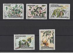 CENTRAFRICAINE (République) . YT 191/195  Neuf **  Fleurs 1973 - Central African Republic