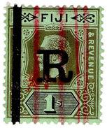 (I.B) Fiji Revenue : Stamp Duty 1/- (1922) - Fiji (...-1970)