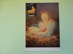 CARTE MAXIMUM CARD LA VIERGE MARIE ET LE NOUVEAU NE PAR CORREGGIO COOK ISLANDS - Religious