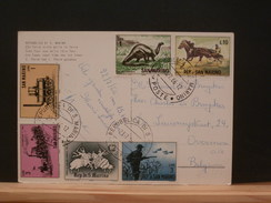 73/598  CP  SAN MARIN - Stamps