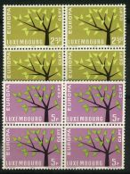 LUXEMBOURG ( EUROPA 1962 ) : Y&T N°  612/613   X  4  TIMBRES  NEUFS  SANS  TRACE  DE  CHARNIERE , A  SAISIR . - 1962
