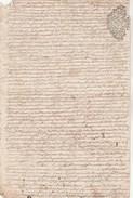 Manuscrit 2 Cachets Généralité Différents LIMOGES Dix Deniers XVIIIè Marquis De Maignac Baron D' Arnac  Haute Vienne - Cachets Généralité