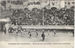Courses De Taureaux - Paseo De Las Cuadrillas - Entrée Des Cuadrillas - Corrida