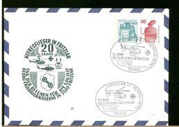 GERMANY - Ganzsachen - FRITZLAR - HEERESFLIEGER - GEORG FRIEDRICH KASERNE - ELICOTTERO - Elicotteri