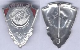 Insigne Du 1er Bataillon D'Infanterie Légère - Army