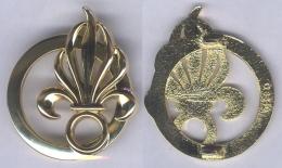 Insigne De Béret Du Commandement De La Légion Etrangère - Army