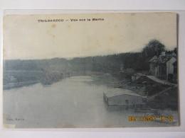 Cpa TRILBARDOU  (77) Vue Sur La Marne - Autres Communes