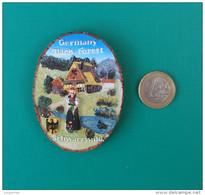 Magnet En Résine Dure Et En Relief - Aimant - Allemagne - Germany - Forêt Noire - Black Forest - Schwarzwald - Tourisme