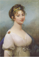 Postcard - Art - Von Josef Grassi - 1758-1838 - Konigin Luise Von Preussen 1804 - VG - Cartoline