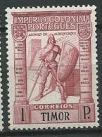 Timor  Portuguais - Yvert N° 245  *  -  Ad319 54 - Timor