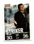 Slam Attax ECW - Matt STRICKER - Sports De Combat