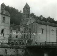 BRANTÔME L'Abbaye Vers 1960 DORDOGNE 24 Grande Photo - Lieux