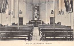 CHATEAUROUX  LYCEE  CHAPELLE - Chateauroux