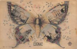 16 - CHARENTE / Cognac - 16811 - Fantaisie - Papillon - Beau Cliché - Cognac