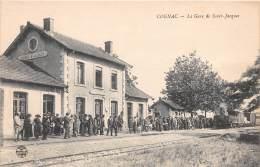 16 - CHARENTE / Cognac - 16824 - La Gare De St Jacques -  Beau Cliché Animé - Cognac