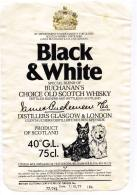 Black & White - Whisky