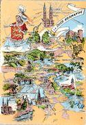 Carte Géographique - La Suisse Normande - Maps