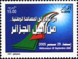Ref. 188995 * NEW *  - ALGERIA . 2005. REFERENDUM OF 29 SEPTEMBER 1903. REFERENDUM DEL 29-9-2005 - Algeria (1962-...)