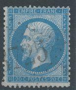 Lot N°38930  Variété/n°22, Oblit GC 3725 St-Pezilla-de-la-Rivière (65), Ind 25 Ou St-Louis (66), Ind 4, Fond Ligné ???? - 1862 Napoleon III