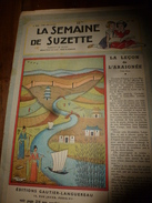 1949 LSDS: La Leçon De L'ARAIGNEE ; Les Aventures De Jaunet De Zillebeke ; Etc - La Semaine De Suzette