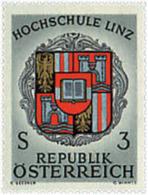 Ref. 68917 * NEW *  - AUSTRIA . 1966. LINZ UNIVERSITY. UNIVERSIDAD DE LINZ - 1945-.... 2a Repubblica